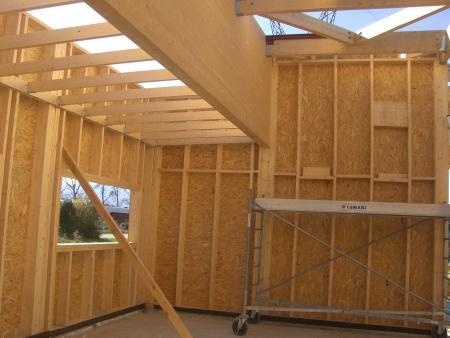 Construction bois structures ossature bois lamell coll for Fabriquer veranda soi meme